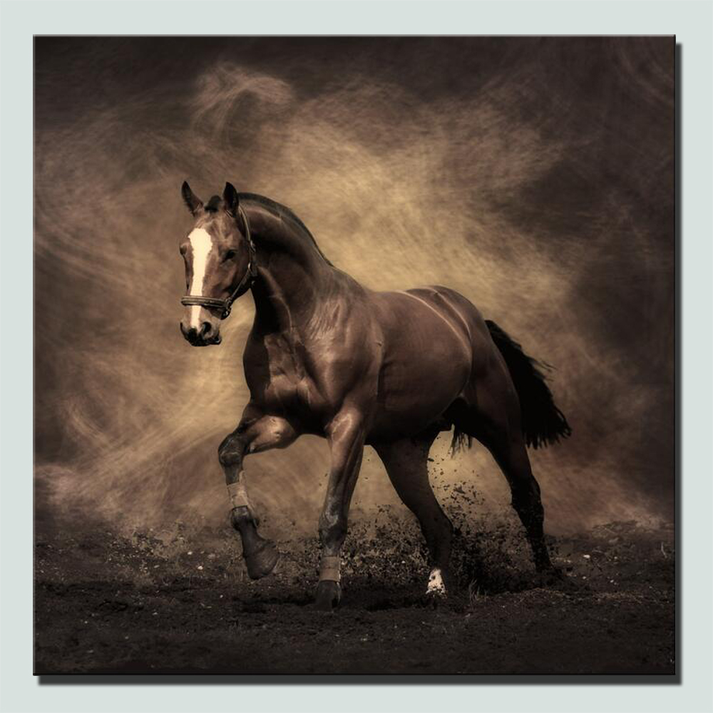 Pictures Of Horses To Print HD Print Horse Posters Classical Style Variety Color Large