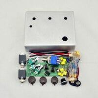 DIY Klon Centaur Overdrive Pedal All Kits With 1590BB Aluminum Enclosure Box