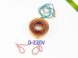Image 5 - HIFI audio amp copper enamel wire toroidal transformer circular transformer power amplifier transformer 120w Output 18V 22V