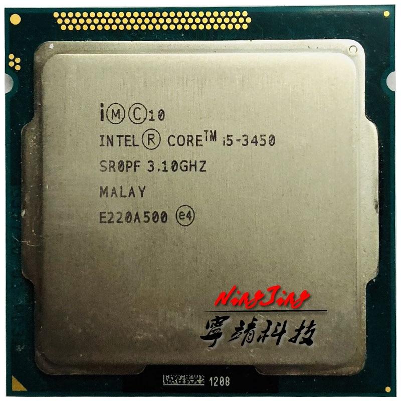 Intel Core i5 3450 i5 3450 3 1 GHz Quad Core CPU Processor 6M 77W LGA