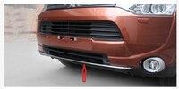 Chrome Voorbumper Lip Trim Molding Voor Mitsubishi Outlander 2013 2014