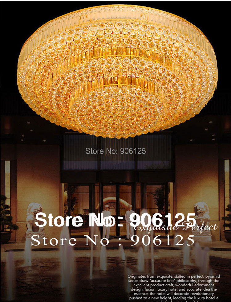 Traditional Gold Ceiling Light Fixtures Cake Shape Chrome Crystal Ceiling Light Guaranteed 100%+Free shipping! guaranteed 100