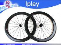 carbon clincher wheel bike road bicycle Carbon Wheels 700C 60mm deep 23/25mm Width Novatec 291/482 Hub Racing Road Bike Wheelset