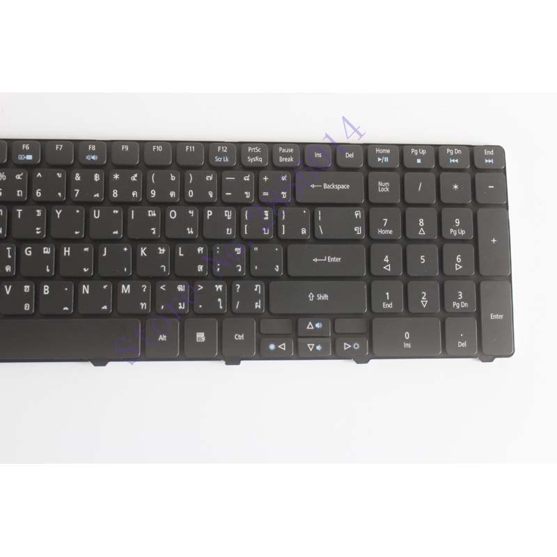 Thailand Keyboard for Acer Aspire 5750 5750G 5253 5333 5340 5349 5360 5733 5733Z 5750Z 5750ZG 7745 emachines e644 Laptop TH