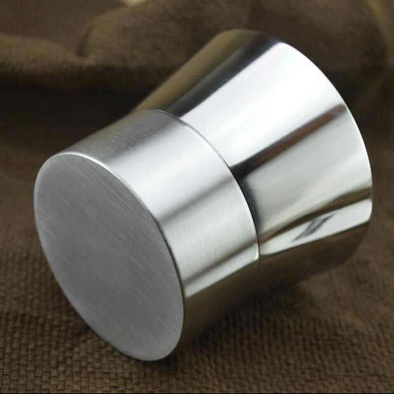 Набор из двух предметов 304 нержавеющая сталь высокого качества приправа горшок творческий многофункциональный банка для специй банка для перца Бесплатная доставка