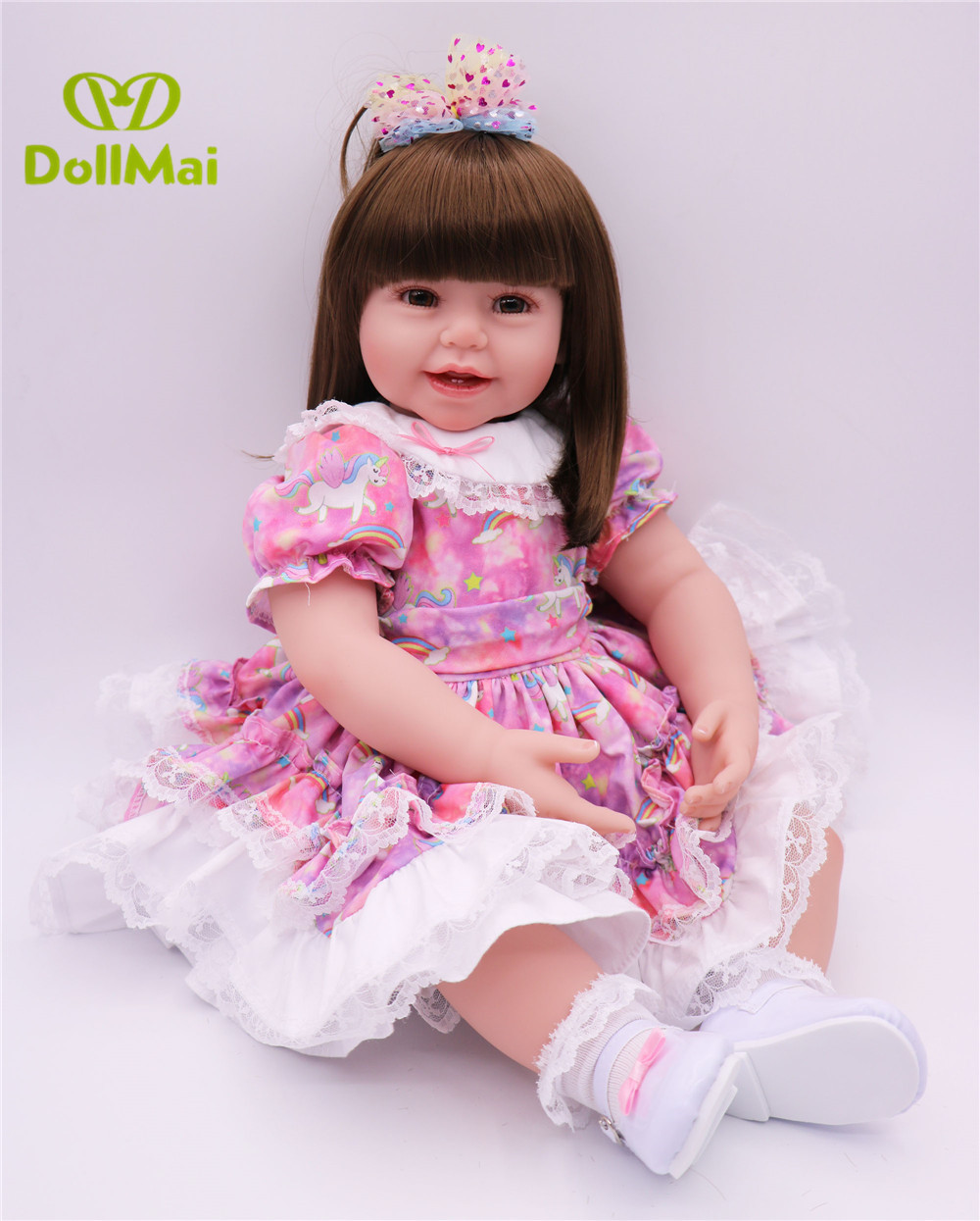2460cm reborn girl dolls vinyl silicone reborn baby dolls real lovely bebe princess reborn dolls for child gift toys bonecas2460cm reborn girl dolls vinyl silicone reborn baby dolls real lovely bebe princess reborn dolls for child gift toys bonecas