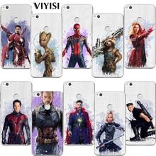 VIYISI Avengers For Huawei Mate 9 10 lite case P8 P9 P10 P20 Lite Phone Case Nova2 Plus Honor9 6A Y5 2017 Y6 II Pro Y7