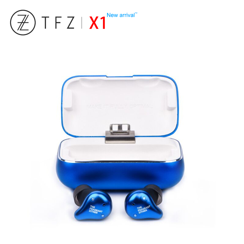 TFZ X1 X1E Bluetooth 5.0 Armature équilibrée IPX7 étanche sans fil HiFi écouteurs intra-auriculaires avec boîte de charge pour écouteurs Huawei