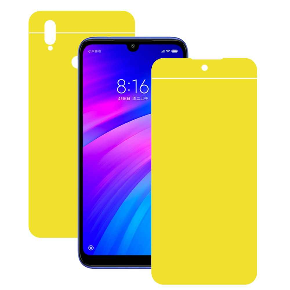 5D Front & Back Soft Hydrogel Film for Redmi 7 Note 6 7 Pro Soft TPU Screen Protector For Xiaomi Mi 9 SE Play Nano Film