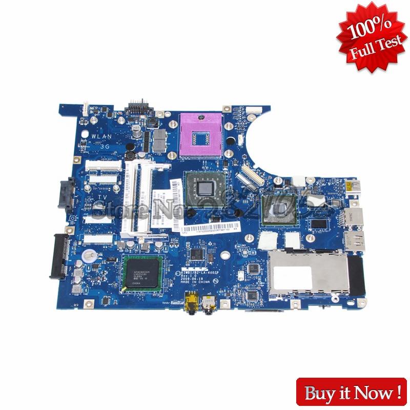 NOKOTION KIWB1 LA 4602P Notebook Mainboard For Lenovo ideapad Y550 Laptop Motherboard GM45 DDR3 Free cpu GT240M Graphics Card