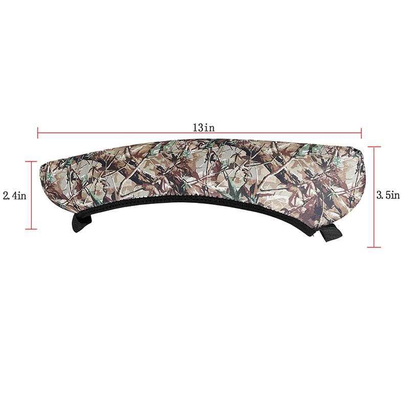 Scope Cover Gun Rifle Camouflage Jacht Accessoires Neopreen Beschermen Scope Cases Zwart Hunt Top Kwaliteit