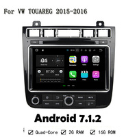 1024X600 Quad Core 2GB RAM Android 7.1.2 3G 4G Car DVD Player For VW TOUAREG 2015-2016 GPS Navigation Radio Stereo System