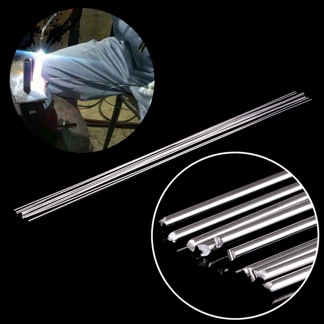 10pcs Metal Aluminum Welding Rod Low Temperature Magnesium