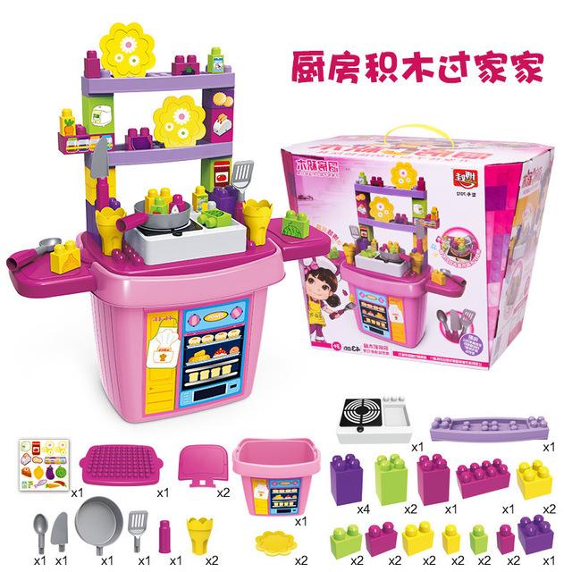 Chegada nova 4 tipos de Corte Longo Casa de Frutas Cozinha Música toys meninas anos de idade do bebê brinquedo utensílios de cozinha simulação melhor presente