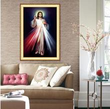 diamond painting cross stitch religious 5D DIY Diamond Embroidery bestseller main handmade products for sale