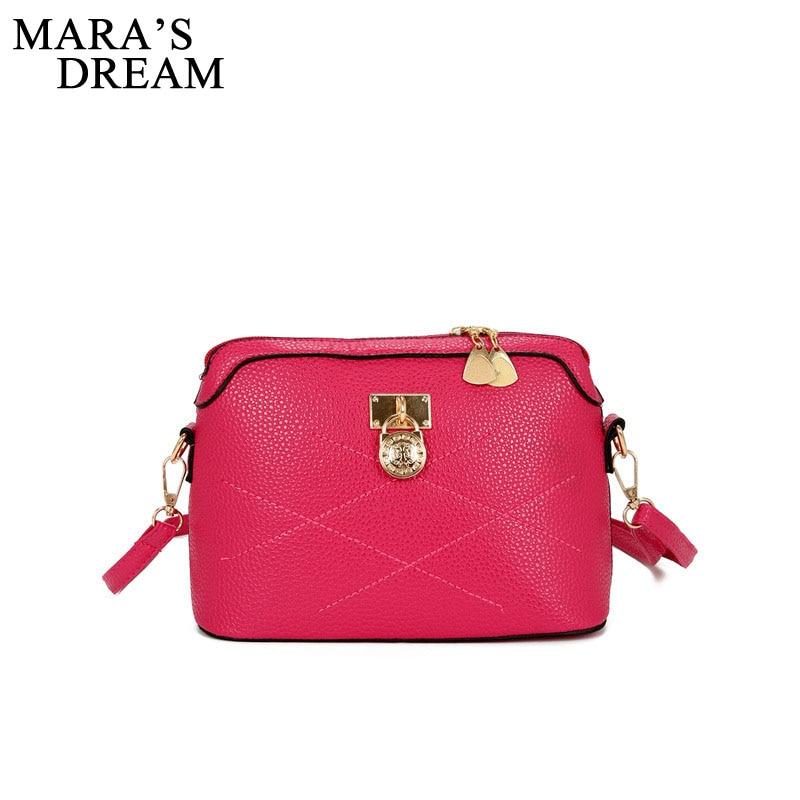 sacolas de moda homensageiro para Women Bag Color : Red Gray Blue Black Rose Red Pink 6 Estilo Color Women Handbag