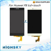 Replacement Part Display For Huawei P8 LCD With Touch Screen Digitizer Tested 10 PCS Free DHL/EMS