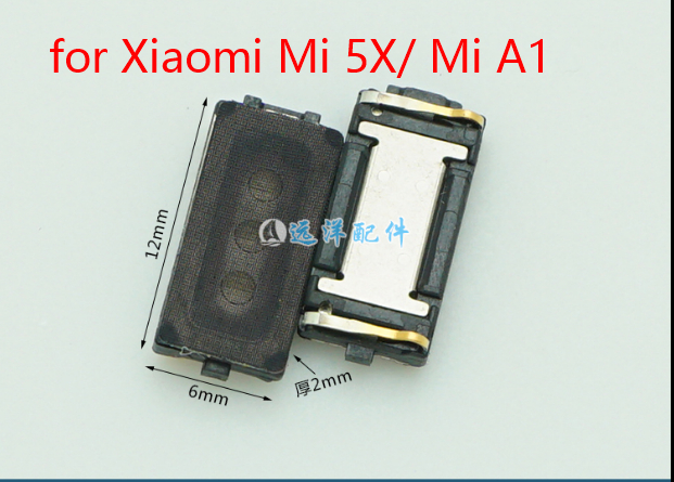 US $2 99 |Earpiece Receiver Ear Speaker for Xiaomi Mi A1 Mi 5X Cell Phone  Repair Replacement Spare Parts Tested Before Shipment-in Mobile Phone Flex