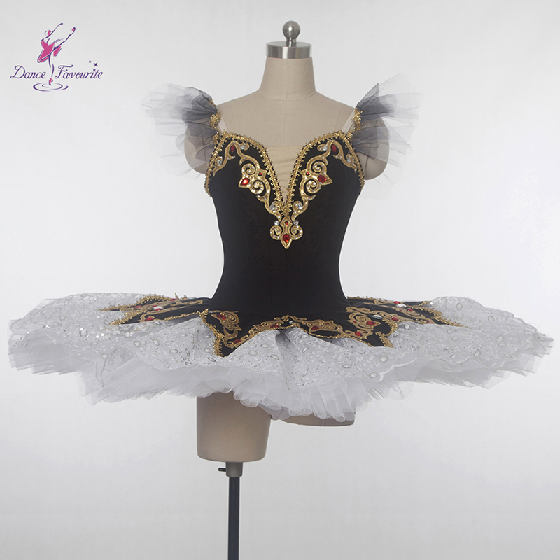 Customer size made New arrival black spandex bodice professional ballet tutu girl & women tutu ballerina dance costume tutu