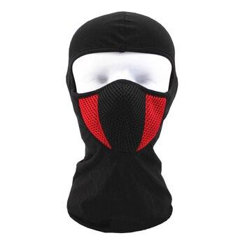 Balaclava Motorcycle Face Mask Outdoor Motor Helmet Bandana Hood Ski Sport Neck Full Face Mask Windproof Dustproof face mask