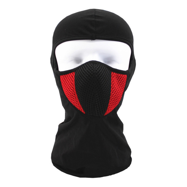 266fa23d354 Balaclava Motorcycle Face Mask Moto Helmet Bandana Hood Ski Neck Full Face  Mask Windproof Dustproof Face Shield-in Motorcycle Face Mask from  Automobiles ...
