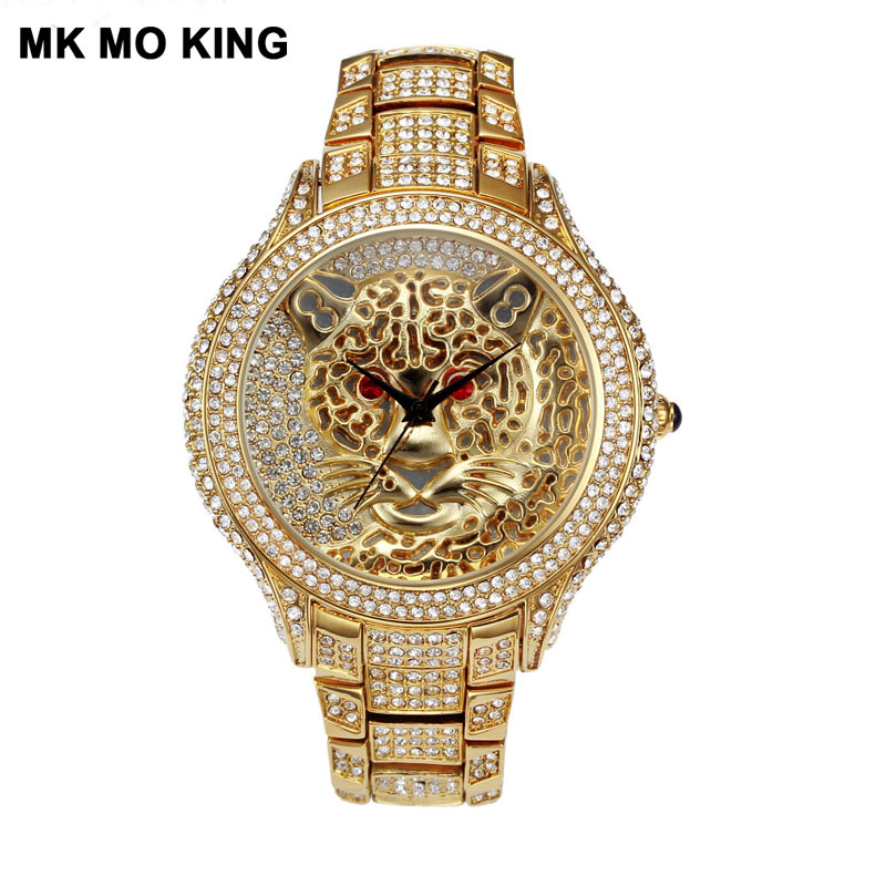 Top Brand Men's And Women's Diamond Cutout Clock Lady Quartz Watch Gold Silver Clock Dw Mk Bracelet Reloj Pareja Hombre Y Mujer