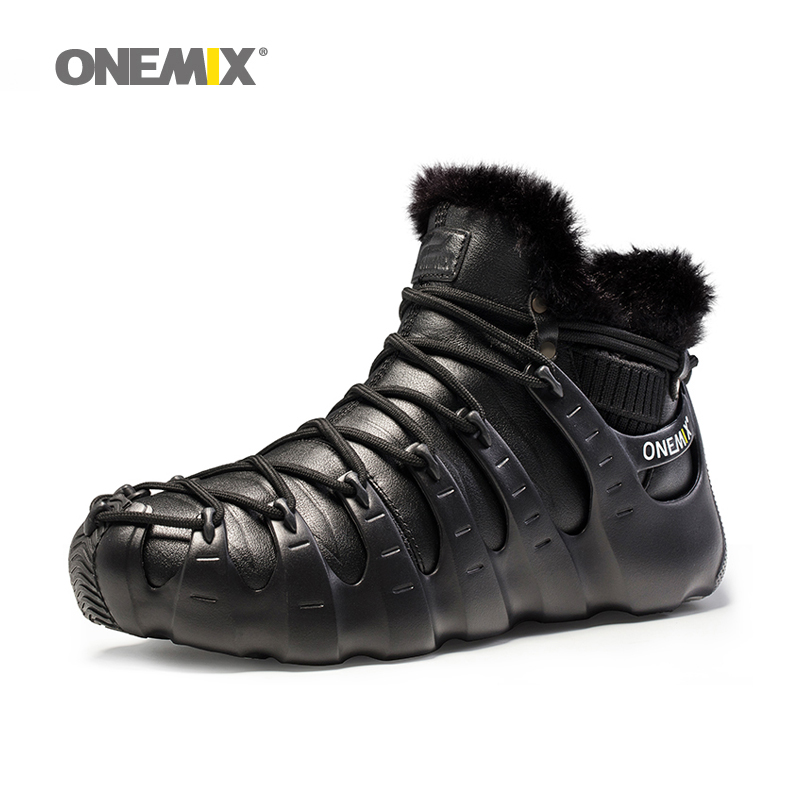 Onemix winter boots for men keeping warm at 28 degrees Shoes walking shoes for women outdoor trekking shoe no glue sneakers onemix winter men boots running shoes for women outdoor trekking shoe sneakers walking shoes autumn winter warm keeping shoes