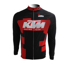 KTM Pro Team Cycling Jersey MTB bicycle Long Sleeve shirts Ropa Ciclismo 2017 Men Bike Clothes sportwear uniformes hombre I7
