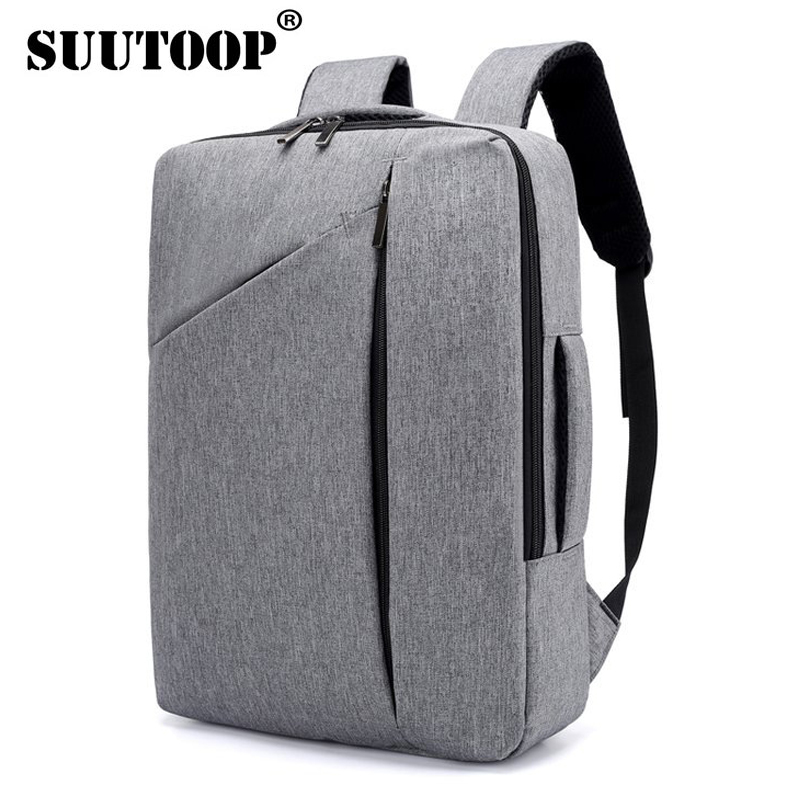 Professional Laptop Backpacks Men For 15.6inch Notbook Multifunction Black Urban Backpack Male Travel Business School Bags 2018