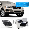 LED Daytime Running Lights For Volvo XC60 2011 2012 2013 with Dimmer Function Brand New Wholesale Price Quality Assured