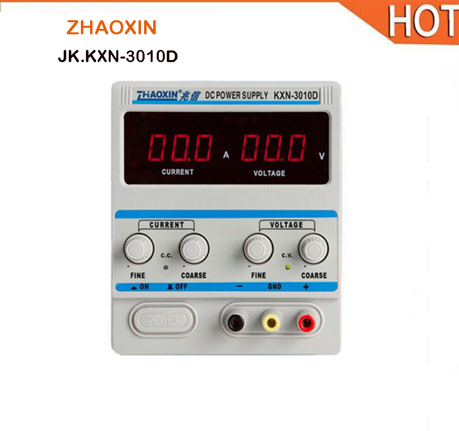ZHAOXIN Precision Variable Adjustable KXN-3010D 30V 10A DC Power Supply Switching Power + DC conversion head