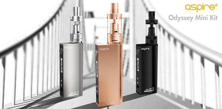 Aspire Odyssey Mini Kit with Triton Mini Tank-display-1