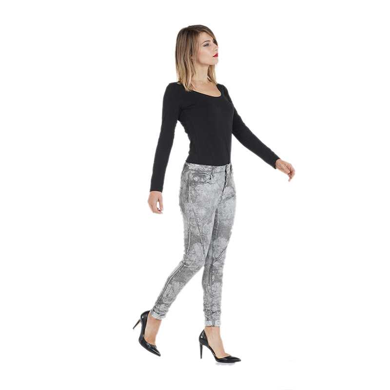My will jeans The latest cold wash loose pants belt button pants fashion 567G in Jeans from Women 39 s Clothing