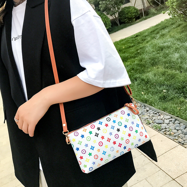 2019 New Fashion Summer Messenger Bag Pu Leather Women`s Shoulder Bag Small Crossbody bag Soft Ladies Totes sac main femme