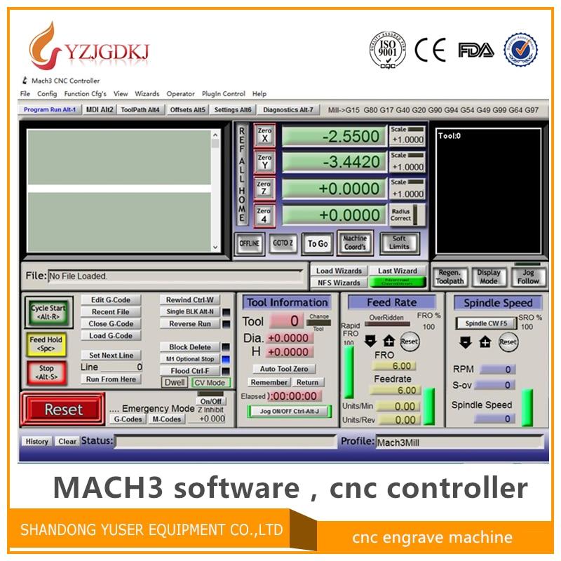 Гравировальный станок с программным управлением Mach3, английская версия программного обеспечения Mach3 с lience cnc, версия R3.041, отправка по электр...