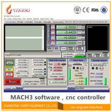 Engraving machine Mach3 controller software, English Mach3 with lience cnc controller software version R3.041 send by email(China)