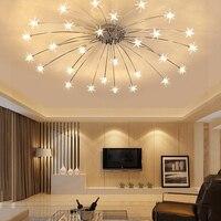 Modern Led Chandelier For Living Dining Room Bedroom Chandelier Lights Lustre Luminaire G4 Lamp Beads Chandeliers