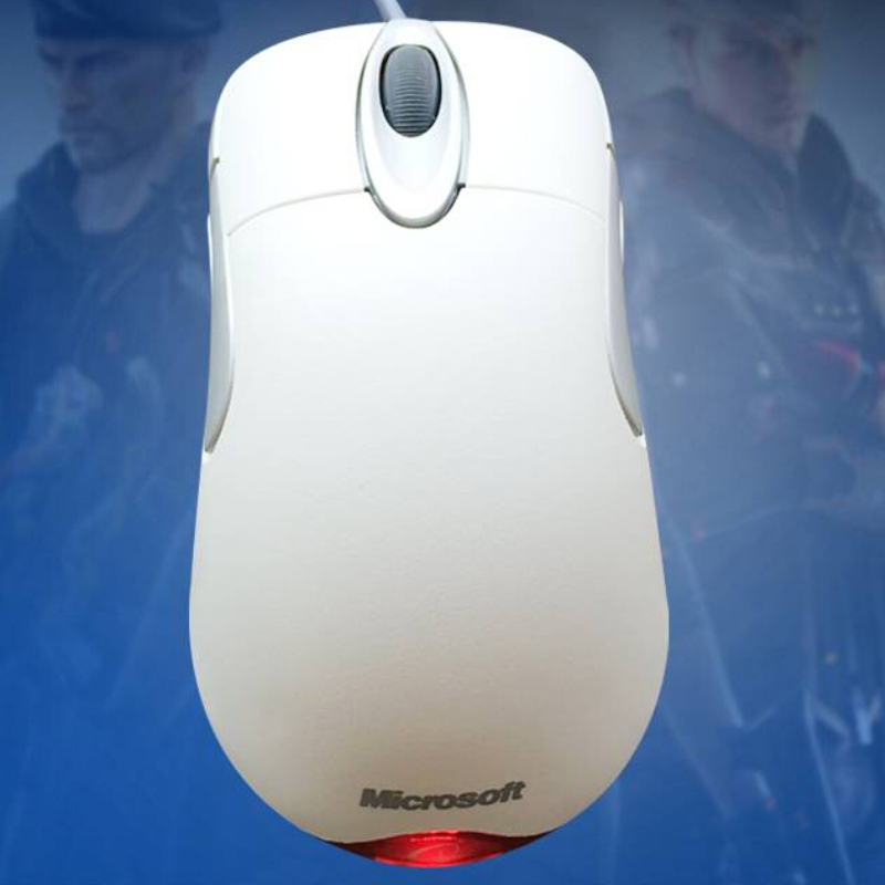 Wholesale IO1.1 USB Wired Gaming Mouse Without Retail Box USB Wired Optical Microsoft IntelliMouse IO 1.1 Mouse картридж canon pfi 307 c для плоттера ipf830 840 850 голубой 330 мл