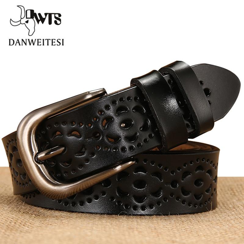 [DWTS]belt Female Genuine Leather Belts For Women Designer Brand Luxury Women Ceinture Femme Cinturon Mujer Cinto Feminino