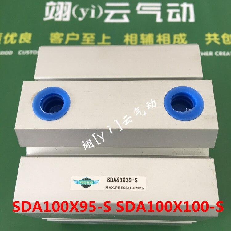 SDA100X95-S SDA100X100-S AIRTAC cilindro Sottile aria cilindro pneumatico dellaria componente strumenti di diametro 40mmSDA100X95-S SDA100X100-S AIRTAC cilindro Sottile aria cilindro pneumatico dellaria componente strumenti di diametro 40mm