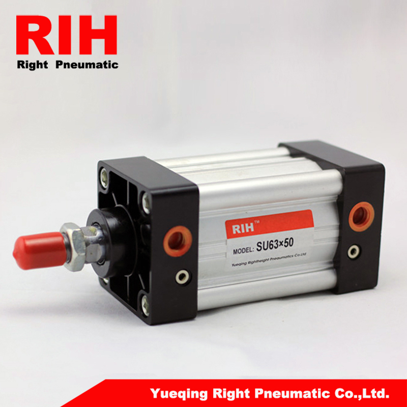 Aluminum alloy cylinders SU series pneumatic air cylinder stroke 50mm bore 63mm su63 100 s airtac air cylinder pneumatic component air tools su series