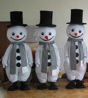 Рождество выступления и снеговик талисмана и Рождество снеговик талисмана Бесплатная доставка