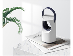 Purple vortex USB Mosquitoes killer Lamp Physical Silent Pest Repeller safe and comfortable