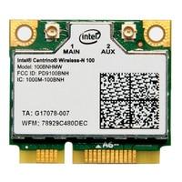 Original Intel Wireless N 100BNHMW 150M Wifi Half Mini PCI E WLAN Card For ACER ASUS