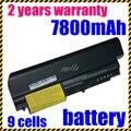 Nueva batería del ordenador portátil 42t5264 42t5229 41u3196 42t5263 42t5230 41u3197 42t5226 para lenovo/ibm thinkpad t400 t61 t61p