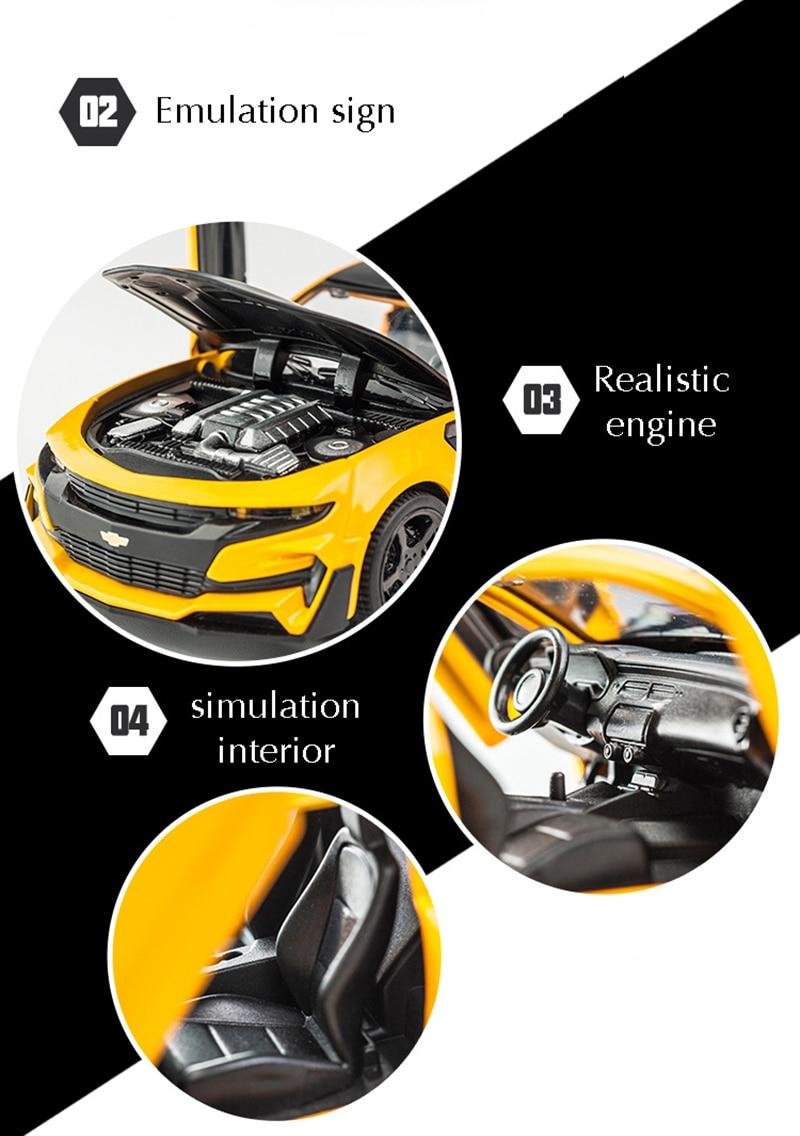 Chevrolet Camaro High Quality Alloy Toy Car 16x6.5x4.6 cm 35