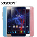 Xgody teléfono móvil 5.5 pulgadas 512 mb ram 8 gb rom con cámara de 5mp quad core android 6.0 d10 doble sim smartphone