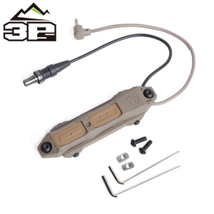 Image 5 - Tactical MLOK KEYMOD Remote Pressure Switch for PEQ Scout Weapon Light Dual Button Hunting Flashlight PEQ Fit Picatinny Rail