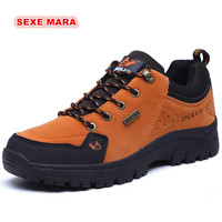 New Trend Outdoor Sneakers Autumn Winter Sports Shoes Women And Men Antiskid Off Road Waterproof Performance
