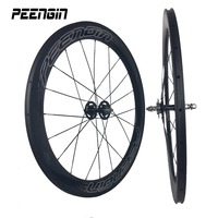 hot wheels tracks factory direct sell 23mm wide 60mm carbon wheelset tubular lightweight rim for track bicycle cycling accessory